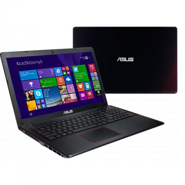 Asus X550JX-XX048D Black-Red - Win8 + O365D Laptop