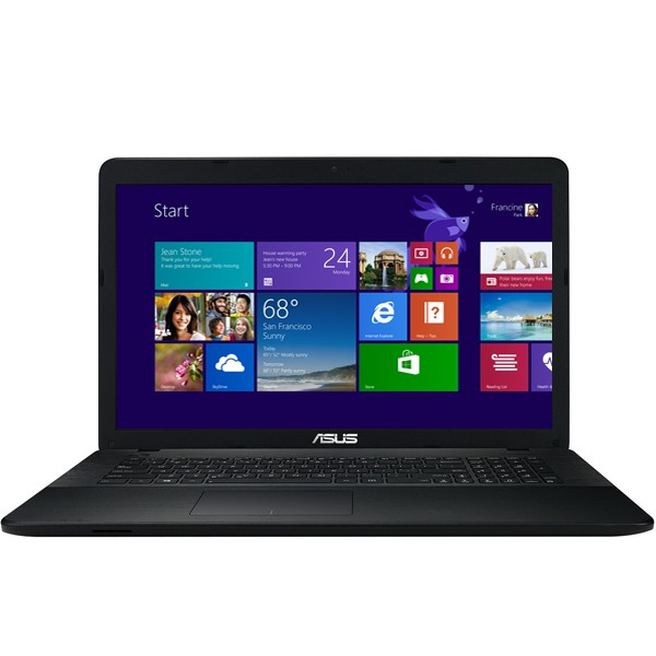 Asus X751MJ-TY003DBK Black - Win8 + O365* Laptop