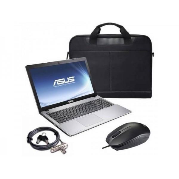 Asus X550VX-DM074D Grey FD 16 GB +táska, egér Laptop