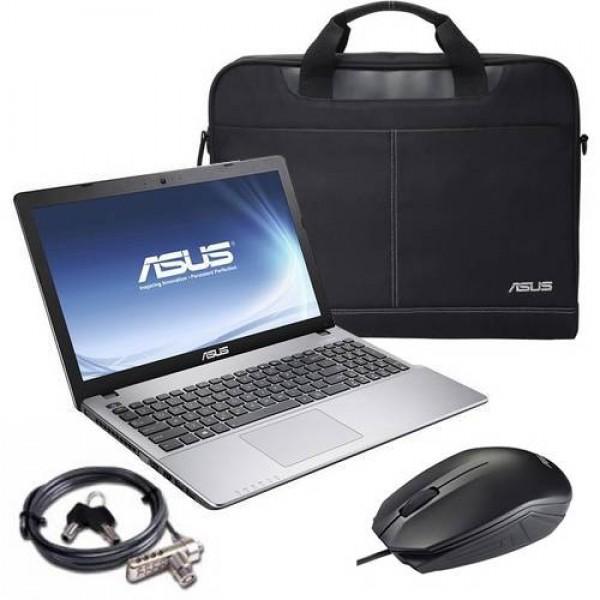 Asus X550VX-DM074D Grey - Win8 + O365D +táska, egér  Laptop