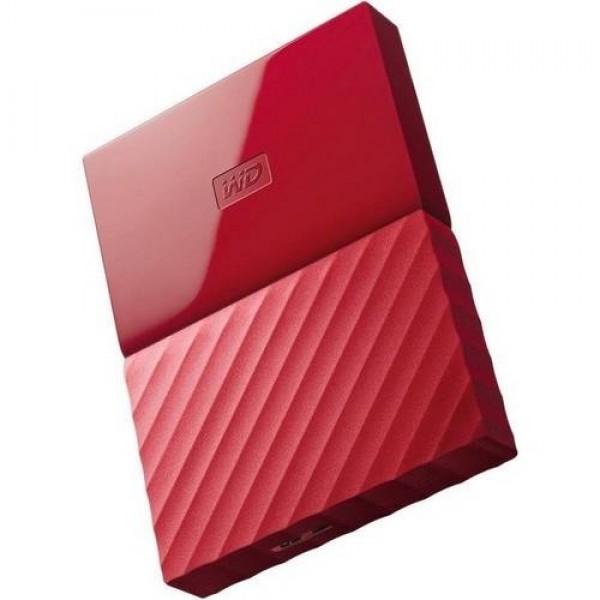 """USB 3.0 HDD 2,5"""" WD Passport 2TB Red (WDBS4B0020BRD) Kiegészítők"""
