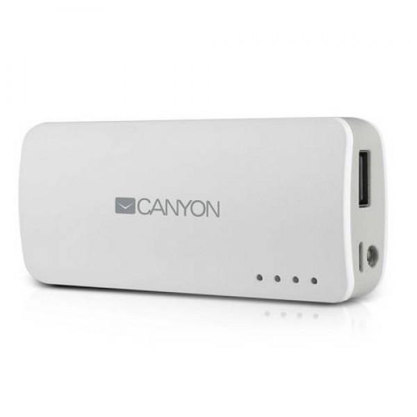 CANYON PowerBank 4400 mAh White CNE-CPB44W Kiegészítők