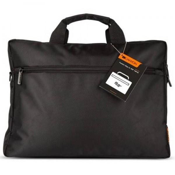 """CANYON Fashion Bag 15,6"""" Black (CNE-CB5B2) Laptop táska"""