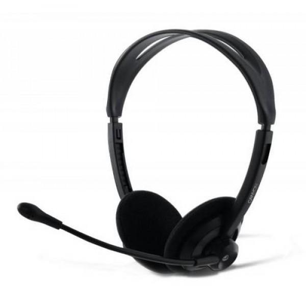 Headset CANYON Stereo Black CNR-FHS04 Kiegészítők