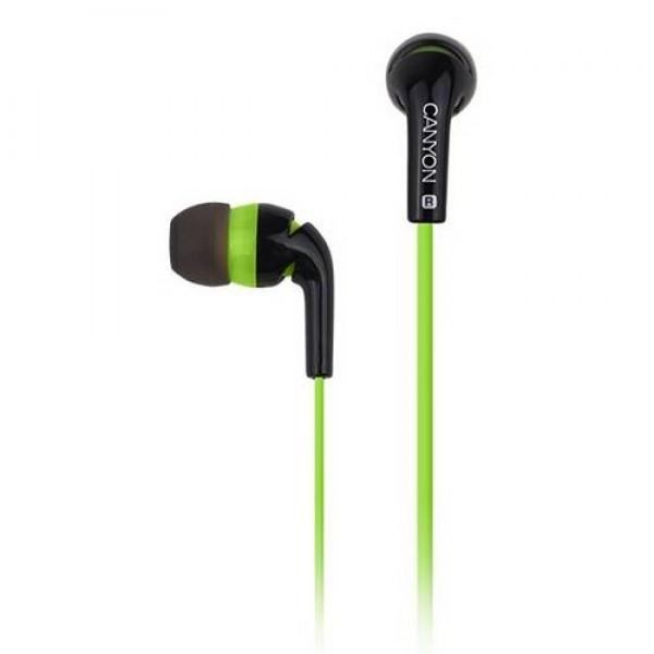 Earphones CANYON Stereo Green CNS-CEP2G Kiegészítők