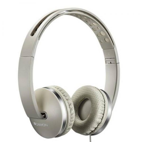 CANYON Stereo Headphones Beige (CNS-CHP4BE) Kiegészítők