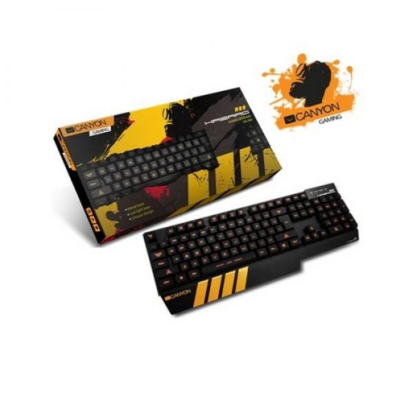 Canyon Gaming Keyboard Aluminium Black Kiegészítők