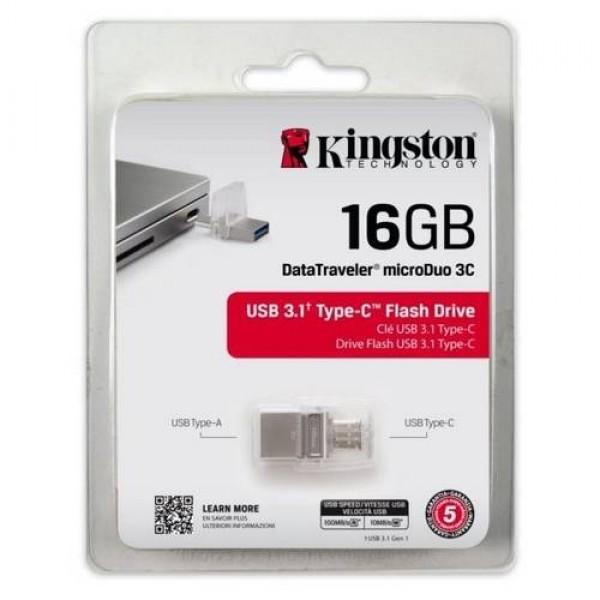 USB Pendrive 16 GB 3.1 Type A-C (DTDUO3C16GB) Kiegészítők