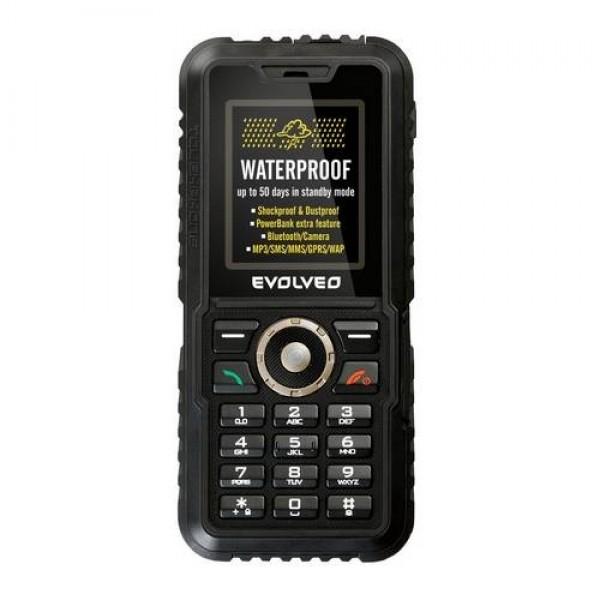 EVOLVEO STRONGPHONE ACCU BLACK Okostelefon