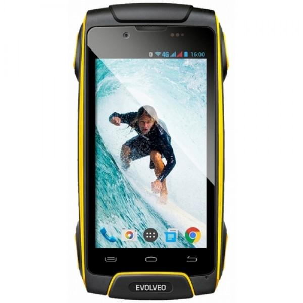 EVOLVEO STRONGPHONE Q8 LTE Okostelefon Yellow Okostelefon