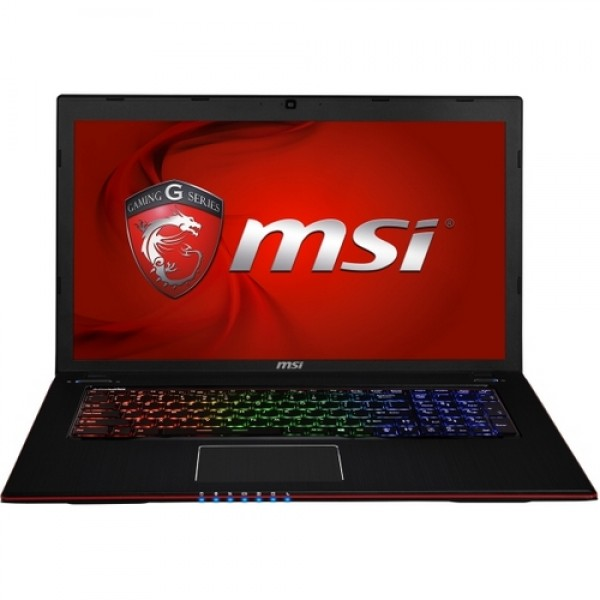 MSI Gamer GE70 2PC Apache-289HU Black W8 GEX Laptop