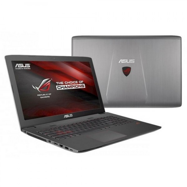 Asus GL752VW-T4207D Gray - Win10 Laptop