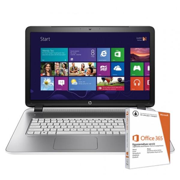 HP Pavilion 17-F202NH L5Z00EA White Win8 +O365 Laptop