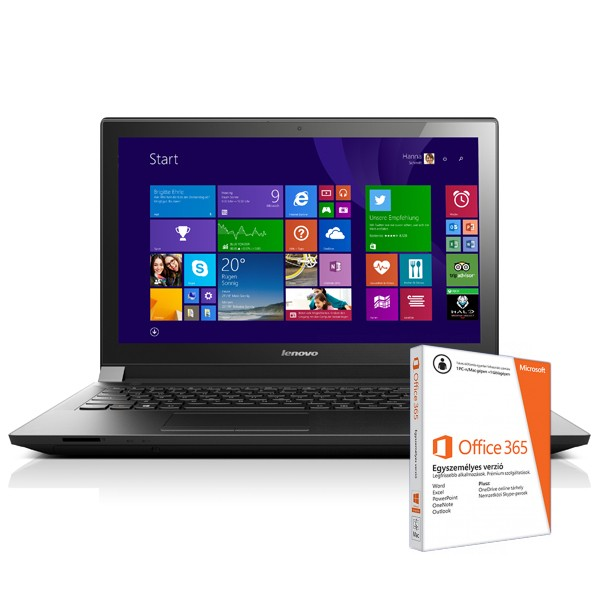 Lenovo B50-30 Black 59-435352 W8.1 4GB +O365 Laptop