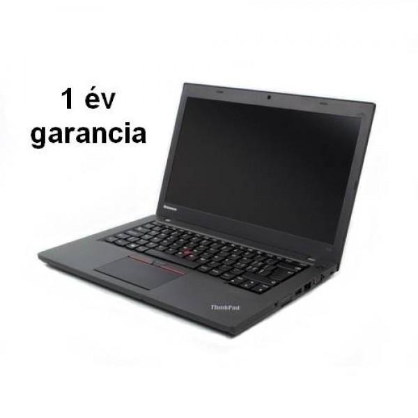 Felújított(használt) ThinkPad T450-A W8.1 Pro/ W10 Pro Upg 1ÉV Laptop