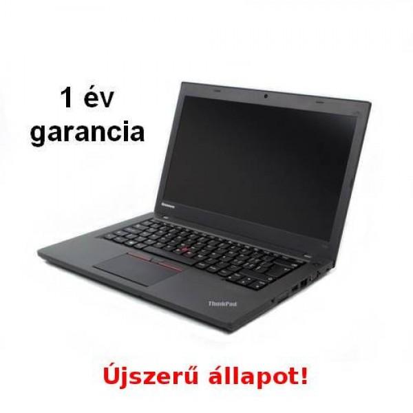 Felújított(használt) ThinkPad T450-A+ W8.1 Pro/ W10 Pro Upg 1ÉV Laptop