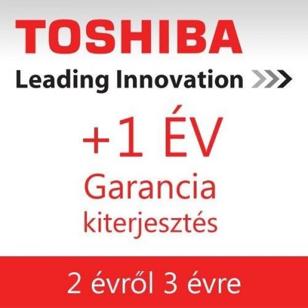Toshiba garancia kibővítés 2évről 3évre Kiegészítők