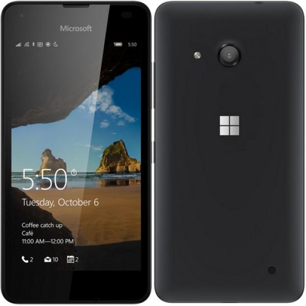 Microsoft Lumia 550 4G Okostelefon Black Okostelefon
