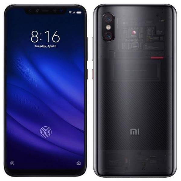 Xiaomi Mi 8 Pro Dual SIM Titanium (MI8PRO128GB_TITANIUM)  Okostelefon