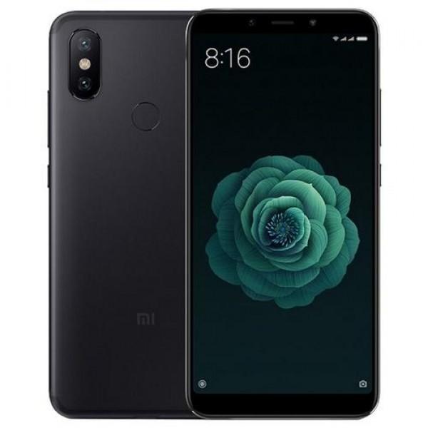 Xiaomi Mi A2 Dual SIM 64GB Black (MIA264GB_BLACK) Okostelefon