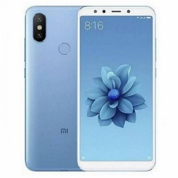 Xiaomi Mi A2 Dual SIM 64GB Blue (MIA264GB_BLUE) Okostelefon