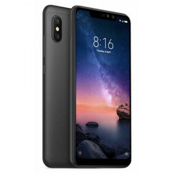 Xiaomi Redmi Note 6 Pro DualSIM Black (REDMINOTE6PRO32GB_BLACK) Okostelefon