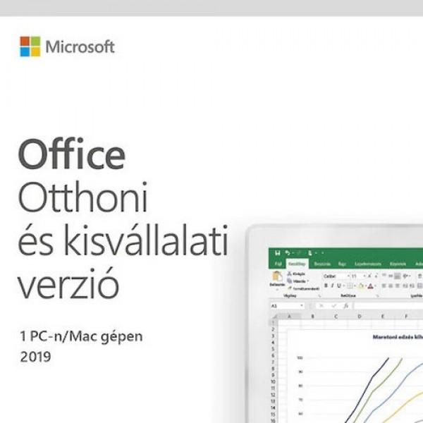 Microsoft Office 2019 Otthoni és kisvállalati v. ESD MSR  Kiegészítők