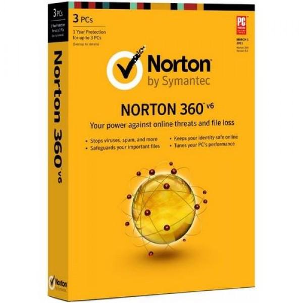 Szoftver Norton 360 V6 XT Szoftver