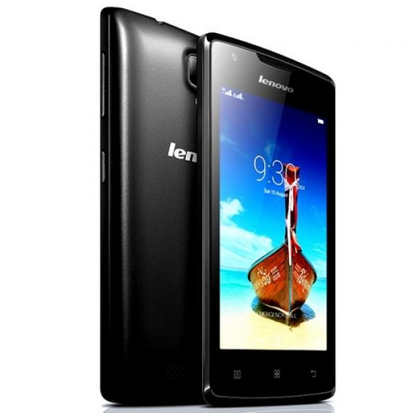 Lenovo A1000 DUAL SIM Okostelefon Black Okostelefon
