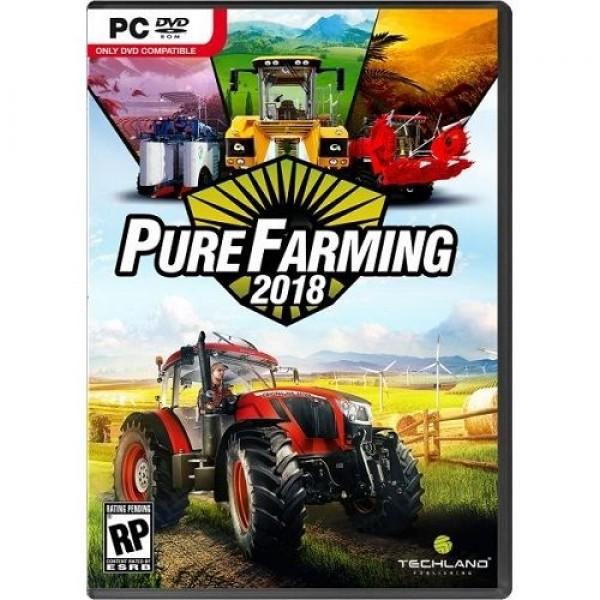 Game PC Pure Farming 2018 Játékprogram PC