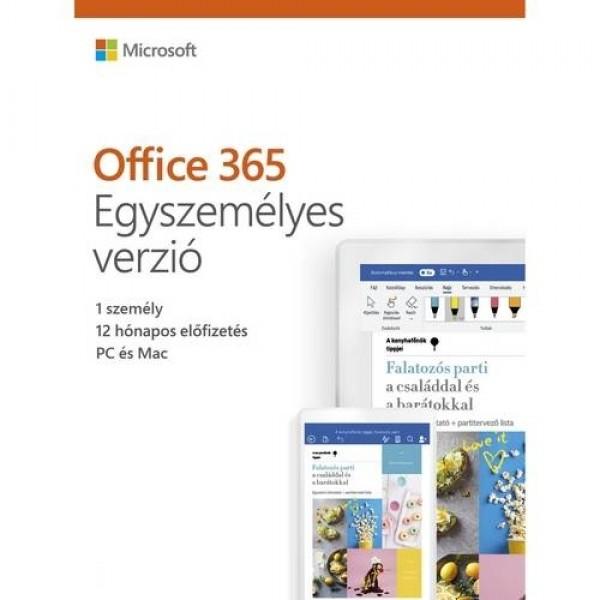 Office 365 Egyszemélyes verzió 1Y ESD MSR Szoftver