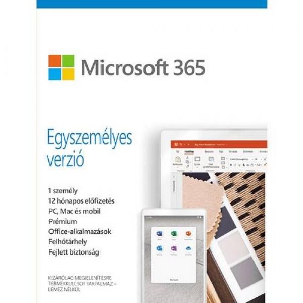 Microsoft 365 Egyszemélyes Verzió MSR Szoftver