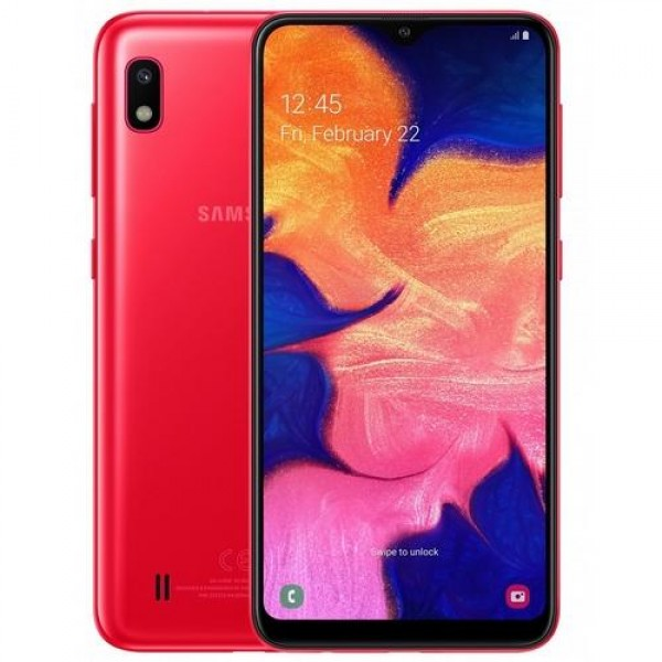 Samsung Galaxy A10 Red (SM-A105FN_DS_RED) Okostelefon