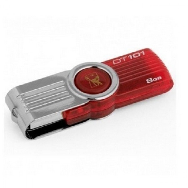 USB Pendrive Kingston Data Traveler 101 Red 2.0 8 GB  Kiegészítők