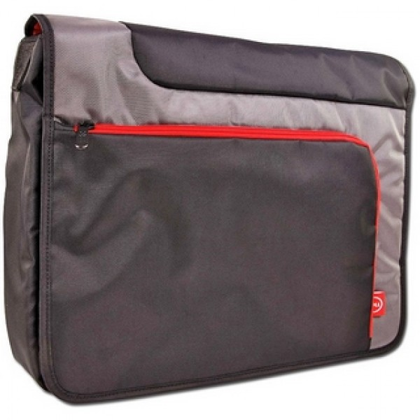 "Laptop táska Dell Messenger Bag 16"" Black-Red DNB101 Laptop táska"