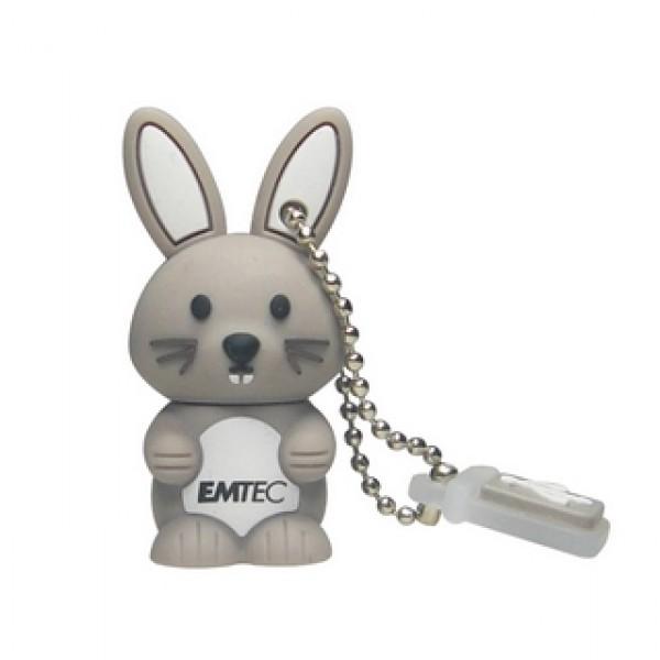 USB Pendrive EMTEC 4 GB 2.0 Nyuszi Kiegészítők
