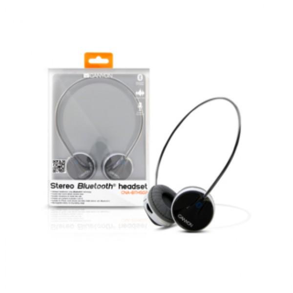 Headphones CANYON Stereo Bluetooth Black (CNA-BTHS02B) Kiegészítők