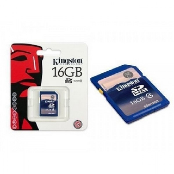 16 GB SDHC Card Kingston Kiegészítők