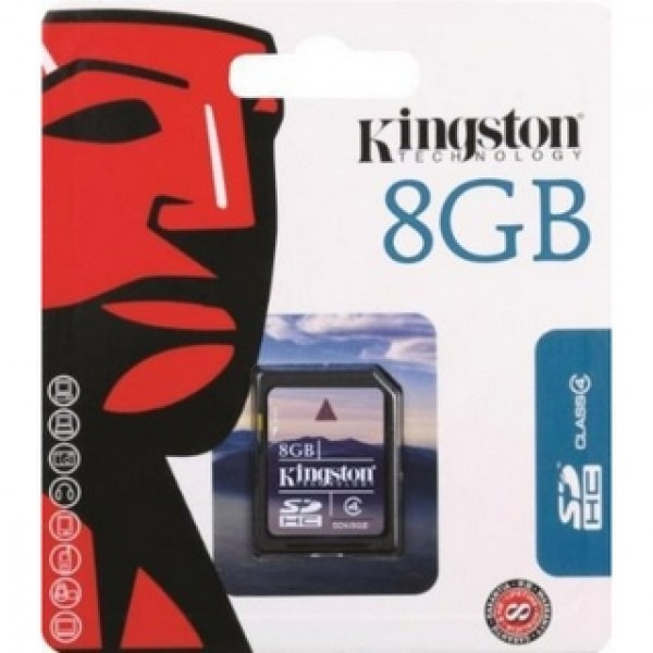 8 GB SDHC Card Kingston Kiegészítők