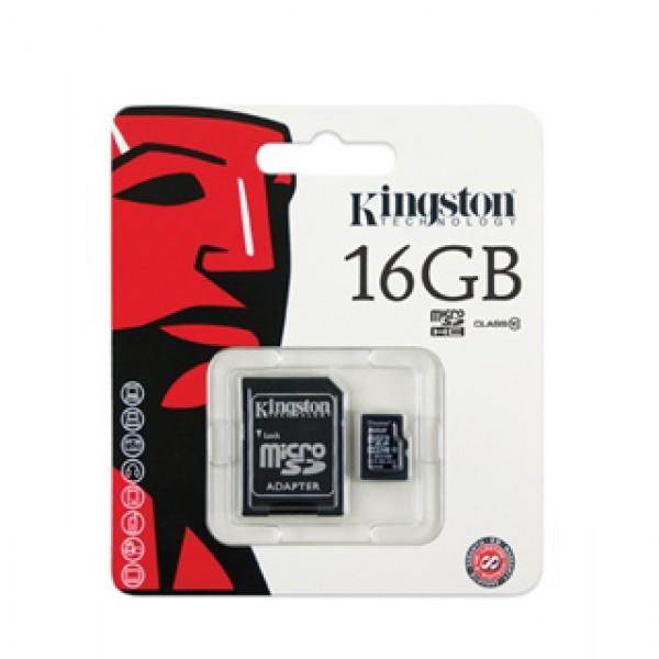 16 GB Micro SDHC Card Kingston (C4 SDC4-16GB) Kiegészítők