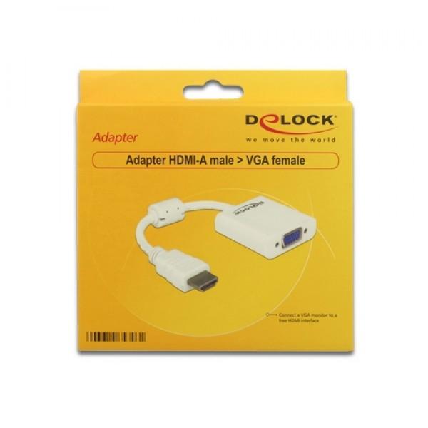 Adapter HDMI-A male VGA female (65346) Kiegészítők