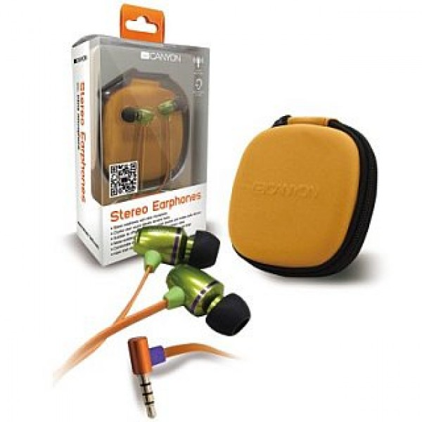 Earphones CANYON Stereo Green (CNA-SEP03G) Kiegészítők