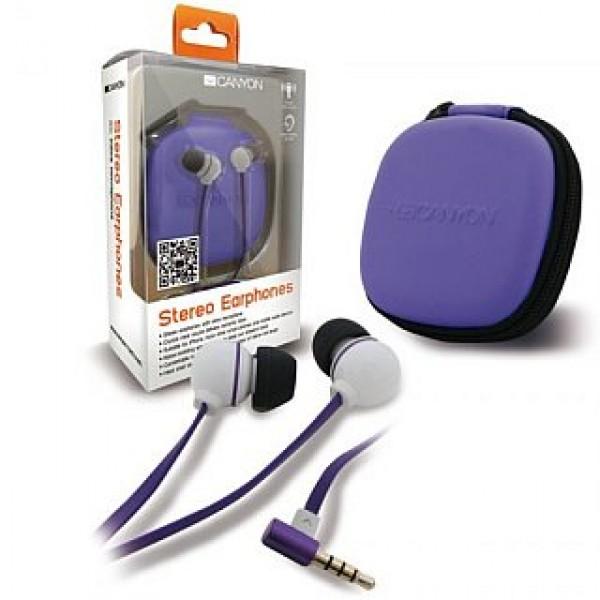 Earphones CANYON Stereo White (CNA-SEP04W) Kiegészítők
