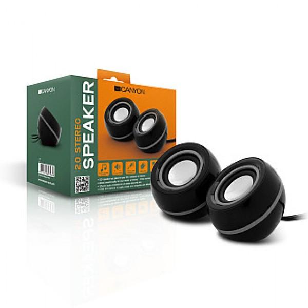 CANYON USB Speaker Black/Silver (CNR-FSP01) Kiegészítők