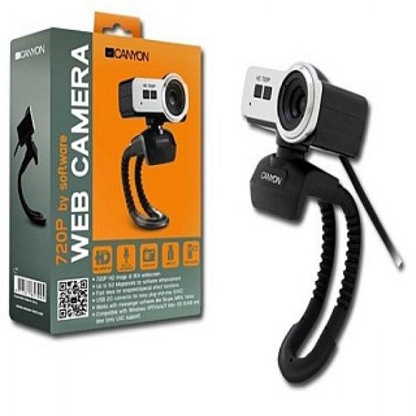 CANYON USB Webcamera HD Black/Silver (CNR-FWC120H) Kiegészítők