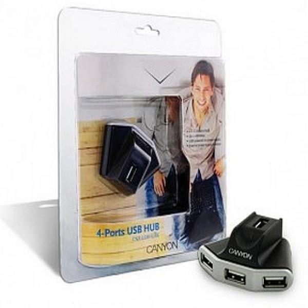 USB HUB 4 Port CANYON aktív (CNR-USBHUB06N) Kiegészítők