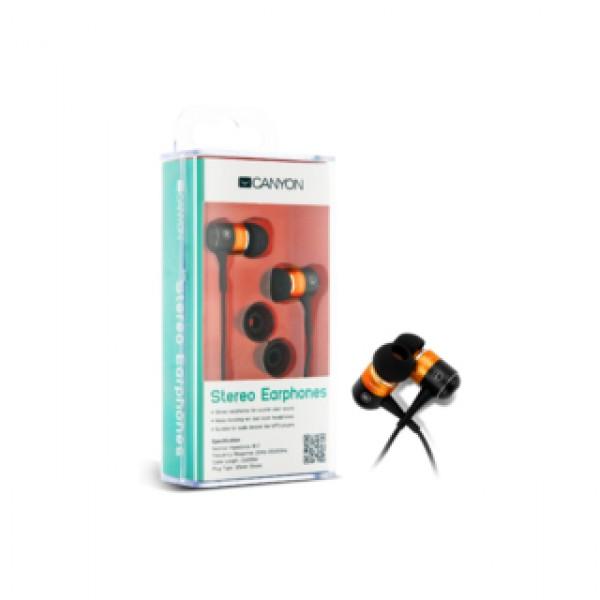 Earphones CANYON Stereo Orange (CNR-EP08NO) Kiegészítők
