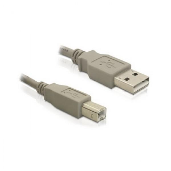 Kábel USB A-B 1,8M Delock Kiegészítők