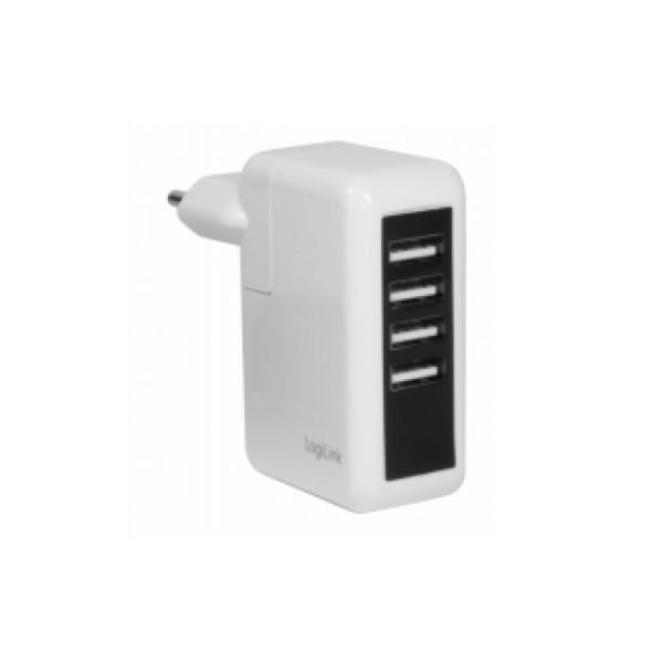 LogiLink Quick Charger 4 Port USB (PA0062) Kiegészítők