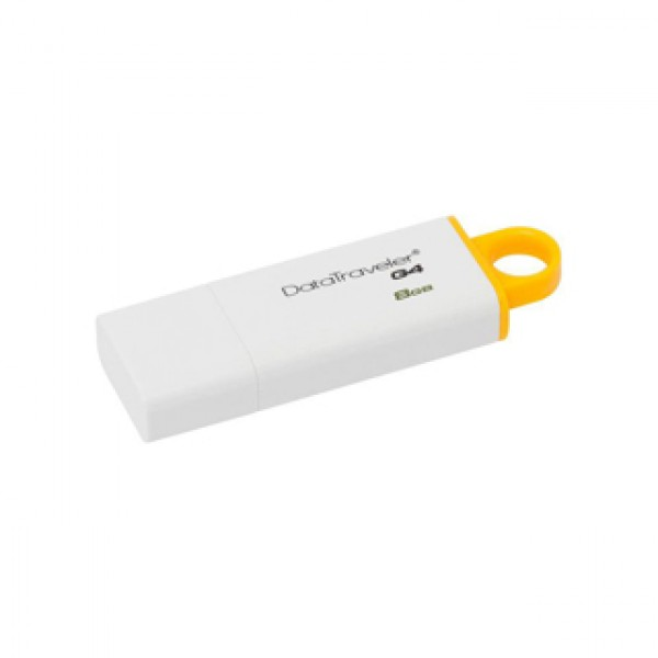 USB Pendrive Kingston DT 8 GB 3.0 White (DTIG4-8GB) Kiegészítők